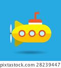 submarine,vector,yellow 28239447