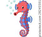 Seahorse Cartoon 28245501