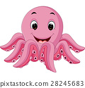 Octopus cartoon 28245683