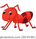 red ant cartoon 28245961