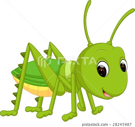 Cartoon funny cricket 28245987