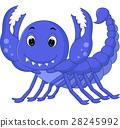 scorpion cartoon 28245992