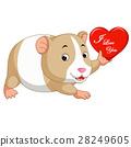hamster cartoon 28249605