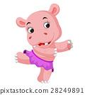 hippo dancing 28249891