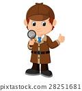 Detective boy Cartoon 28251681