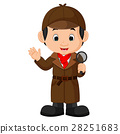 Detective boy Cartoon 28251683