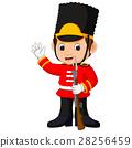 British guardsman cartoon 28256459