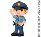 policeman cartoon 28256462