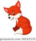 cartoon funny fox 28262535