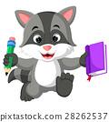 raccoon, cartoon, cute 28262537