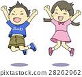 跳快樂的孩子 28262962