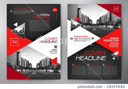 Business brochure flyer design a4 template  - Stock Illustration