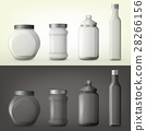 Jar or glass bottles for spice or seasoning 28266156