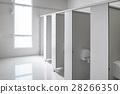 Clean men public toilet room empty, interior 28266350
