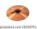 Close up of an prcussion cymbals  28268701