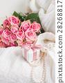 Female accessories on white 28268817