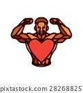 健身 心 向量 28268825