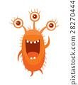 monster, vector, three 28270444