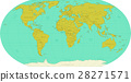 Highly detailed World Map. Vector 28271571