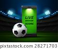 soccer vector stadium 28271703