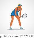 tennis, racket, athlete 28271732