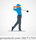 高爾夫 向量 向量圖 28271750