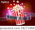 popcorn movie cinema object 28271866