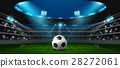 soccer football stadium spotlight 28272061