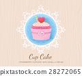 蛋糕 紙杯蛋糕 向量 28272065