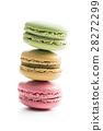 Sweet colorful macarons. 28272299