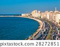 View of Alexandria harbor, Egypt 28272851