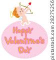 バレンタイン キューピット 28275256