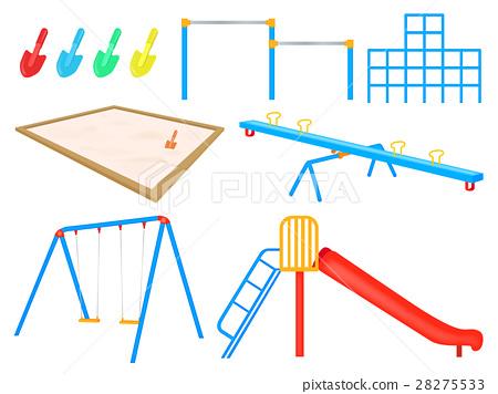 玩具 公園 矢量 28275533