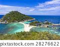 코 타오 섬 낭 유안 아일랜드의 바다 28276622