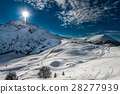 Ski cross-country skiing on the Italian alps 28277939