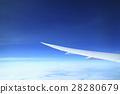 飛機 雲彩 雲 28280679