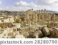 Ruined ancient Jerash 28280790