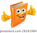 Cartoon Thumbs Up Book 28281984