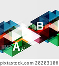 triangle abstract vector 28283186