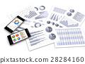 스마트 폰과 비즈니스 자료 28284160