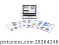 노트북 및 비즈니스 자료 28284248