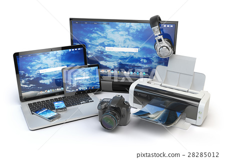 Computer devices and office equipment.  28285012