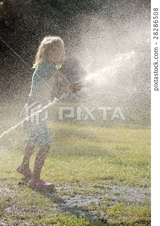 Play with water jets 28286508