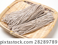 raw japanese soba noodle 28289789