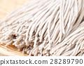 raw japanese soba noodle 28289790