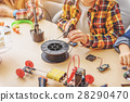 Children creating new interesting toy 28290470