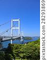 구루 시마 해협 대교 28293869