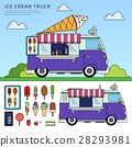 ice cream truck 28293981
