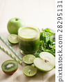 green, smoothie, vegetable 28295131