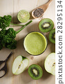 green, smoothie, vegetable 28295134